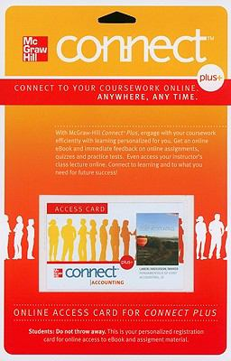 Connect Plus Access Card for Fundamentals of Cost Accounting