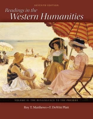 Readings in the Western Humanities Volume 2