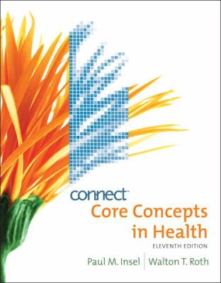 Core Concepts in Health with Connect Bind-in Card