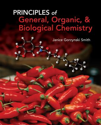 Student Study Guide/Solutions Manual for Principles of General, Organic & Biochemistry