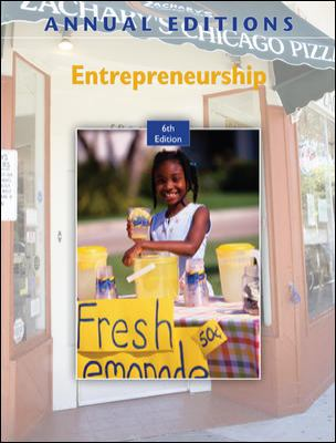 Annual Editions: Entrepreneurship, 6/e with FREE Annual Editions: Entrepreneurship, 6/e CourseSmart eBook