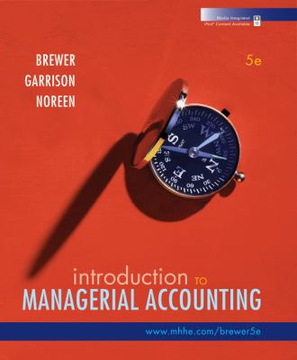 Introduction to Managerial Accounting with Connect Plus