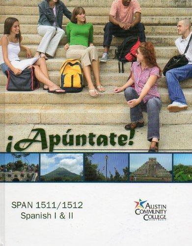 Apuntate! (SPAN 1511/1512, Spanish I & II)