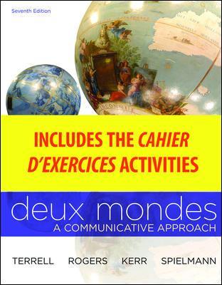 WBLM for Deux mondes (Cahier dexercices)