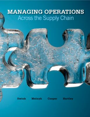 Managing Operations Across the Supply Chain with Student DVD