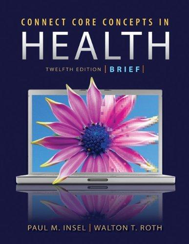 Core Concepts in Health Brief Edition with Connect Plus Access Card