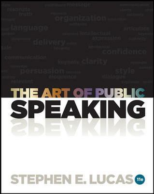 The Art of Public Speaking with Connect Plus Access Card