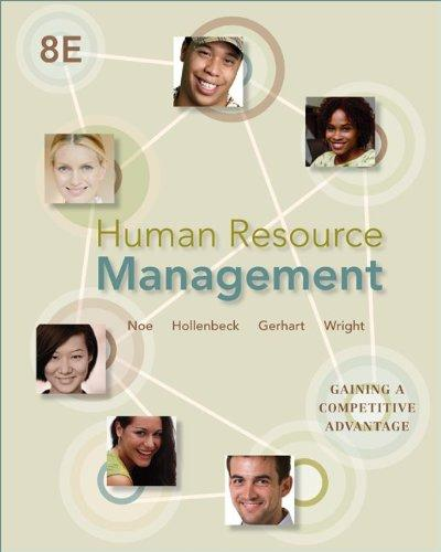 Human Resource Management: Gaining a Competitive Advantage, 8th Edition