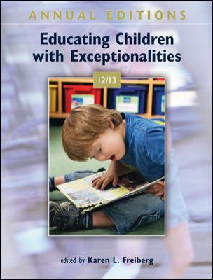 Annual Editions: Educating Children with Exceptionalities 12/13