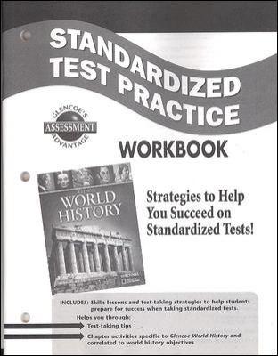 Glencoe World History Standardized Test Practice Workbook