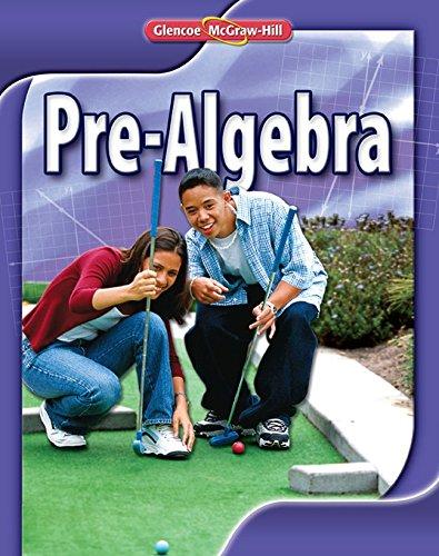 Pre-Algebra, Student Edition