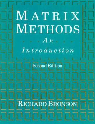 Matrix Methods An Introduction