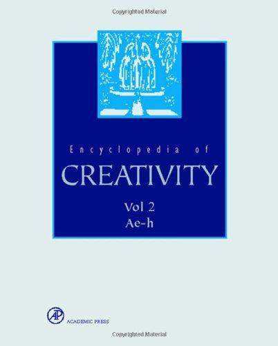 RUNCO ET AL ENCYCLOPEDIA OF CREATIVITY VOL 2
