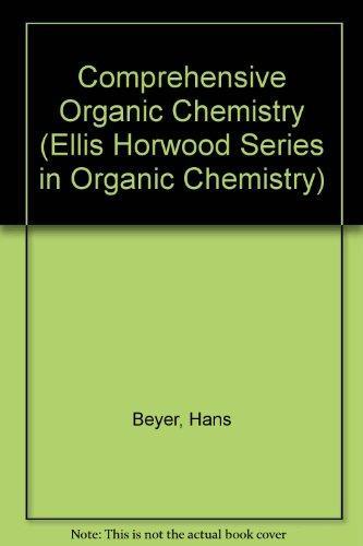 Handbook of Organic Chemistry (Ellis Horwood Series in Organic Chemistry)