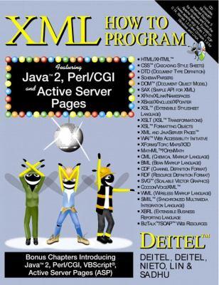 XML How to Program