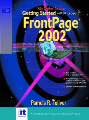 Select Series Getting Started With Microsoft Frontpage 2002