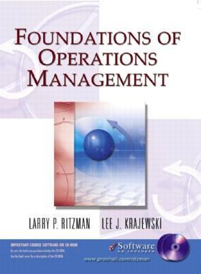 Foundations of Operations Management