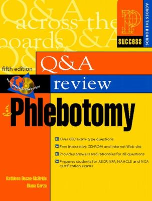Prentice Hall Health Q & A Review for Phlebotomy