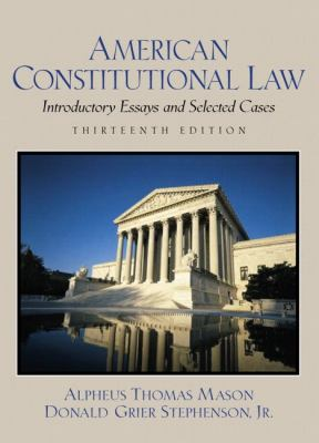 american constitutional law introductory essays