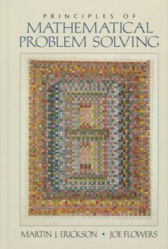 Principles of Mathematical Problem Solving