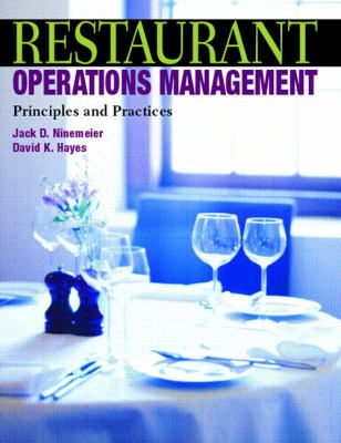 Restaurant Operations Management Principles And Practices