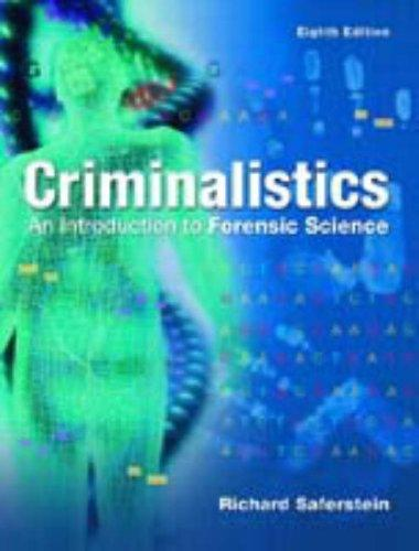 criminalistics an introduction to forensic science saferstein pdf