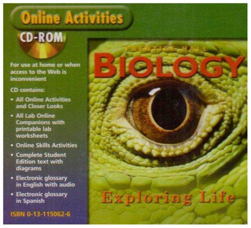 Biology: Exploring Life Online Activities