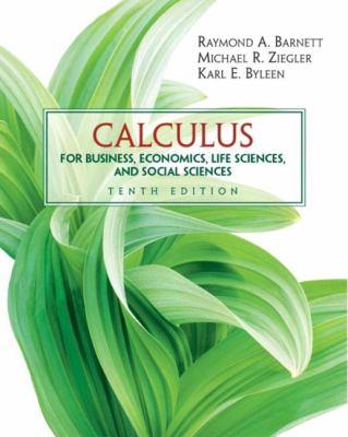Calculus for Business, Economics, Life Sciences and Social Sciences