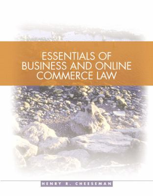 Essentials of Business and Online Commerce Law