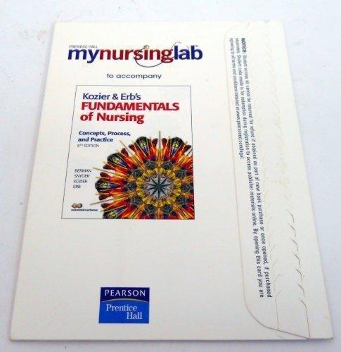 MyNursingLab -- Access Card -- for Kozier & Erb's Fundamentals of Nursing