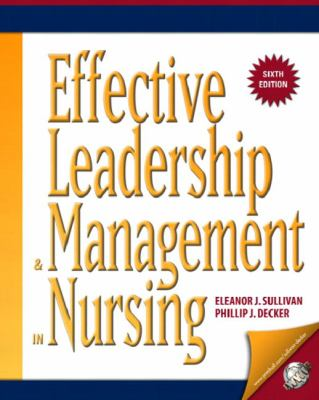 Effective Leadership & Management in Nursing