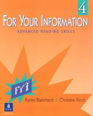 For Your Information 4 Advanced Reading Skills