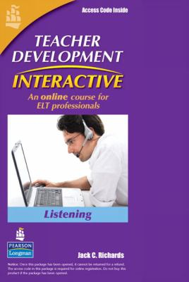 Teacher Development Interactive: Listening Module (Student Access Code Card)
