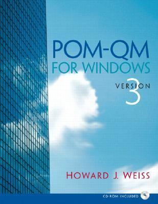 POM-QM for Windows Version 3
