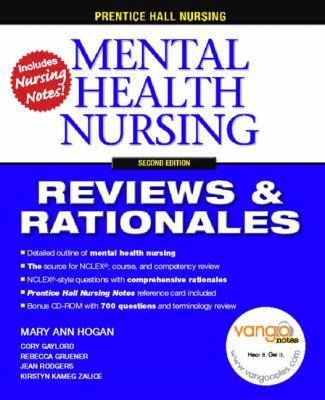 Prentice Hall Nursing Reviews & Rationales Mental Health Nursing Reviews & Rationales