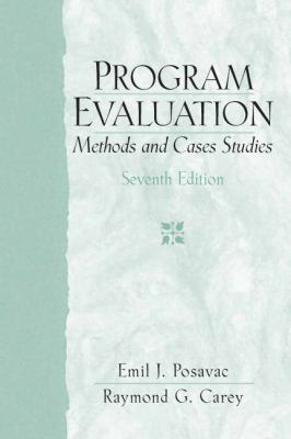 program evaluation methods and case studies pdf