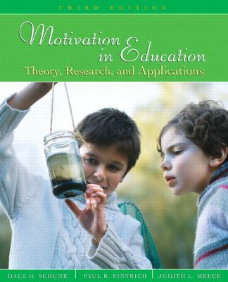Motivation in Education Theory, Research, and Application