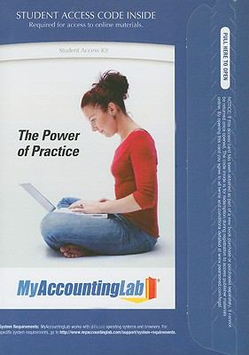 MyAccountingLab Course Student Access Code Card for Financial Accounting : A Business Process Approach