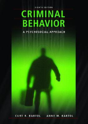 Criminal Behavior A Pyschological Approach