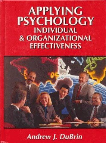 Applying organizational psychology essay