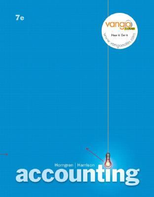 Accounting (7th Edition)