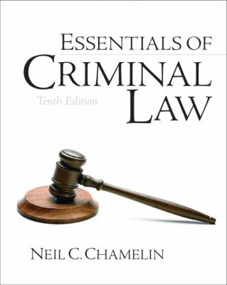 Essentials of Criminal Law (10th Edition)