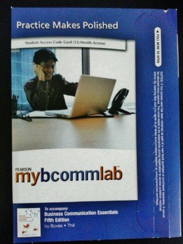 NEW MyBCommLab with Pearson eText -- Access Card -- for Business Communication Essentials