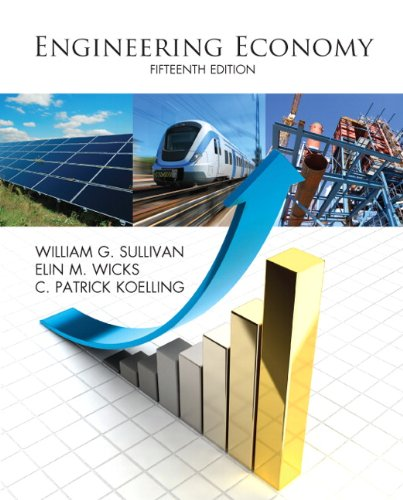 Engineering Economy (15th Edition)