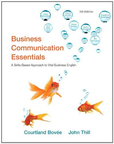Business Communication Essentials Plus New MyBCommLab with Pearson eText -- Access Card Package (5th Edition)