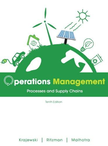 Operations Management: Processes and Supply Chains Plus NEW MyOMLab with Pearson eText -- Access Card Package (10th Edition)