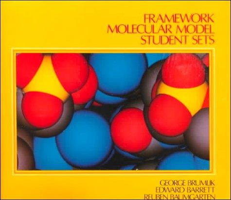 Framework Molecular Model Student Kit