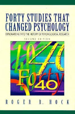 an analysis of the forty studies that changed psychology As this forty studies that changed psychology 7th ed  answers fst besam manuals plane geometry with problems and applications applied chemistry 1st edition analysis.