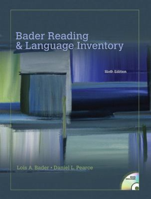 Bader Reading & Language Inventory (6th Edition)