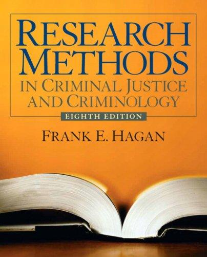 Research process and terminology criminal justice